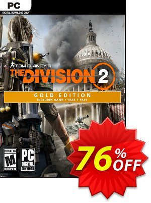 Tom Clancy's The Division 2 Gold Edition PC discount coupon Tom Clancy's The Division 2 Gold Edition PC Deal - Tom Clancy's The Division 2 Gold Edition PC Exclusive offer for iVoicesoft