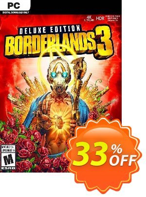 Borderlands 3 Deluxe Edition PC + DLC (US/AUS/JP) 優惠券,折扣碼 Borderlands 3 Deluxe Edition PC + DLC (US/AUS/JP) Deal,促銷代碼: Borderlands 3 Deluxe Edition PC + DLC (US/AUS/JP) Exclusive offer for iVoicesoft
