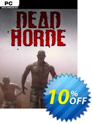 Dead Horde PC 優惠券,折扣碼 Dead Horde PC Deal,促銷代碼: Dead Horde PC Exclusive offer for iVoicesoft