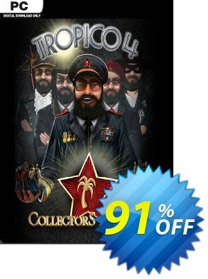 Tropico 4 Collector's Bundle PC Coupon discount Tropico 4 Collector's Bundle PC Deal - Tropico 4 Collector's Bundle PC Exclusive offer for iVoicesoft