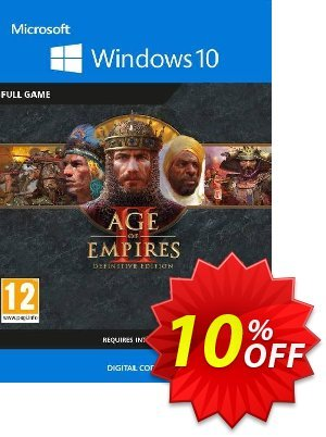 Age of Empires II 2: Definitive Edition - Windows 10 PC 프로모션 코드 Age of Empires II 2: Definitive Edition - Windows 10 PC Deal 프로모션: Age of Empires II 2: Definitive Edition - Windows 10 PC Exclusive offer for iVoicesoft
