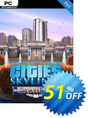 Cities: Skylines PC - Campus DLC Coupon discount Cities: Skylines PC - Campus DLC Deal - Cities: Skylines PC - Campus DLC Exclusive offer for iVoicesoft