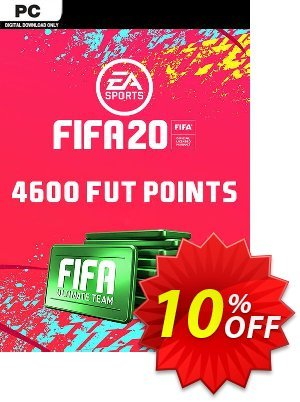 FIFA 20 Ultimate Team - 4600 FIFA Points PC discount coupon FIFA 20 Ultimate Team - 4600 FIFA Points PC Deal - FIFA 20 Ultimate Team - 4600 FIFA Points PC Exclusive offer for iVoicesoft