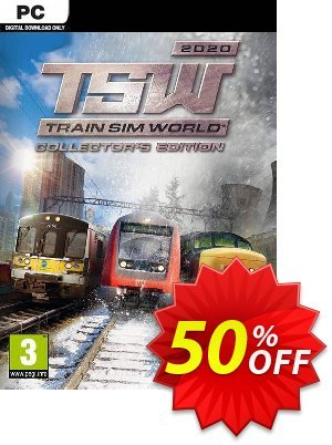 Train Sim World 2020 - Collector's Edition PC discount coupon Train Sim World 2020 - Collector's Edition PC Deal - Train Sim World 2020 - Collector's Edition PC Exclusive offer for iVoicesoft