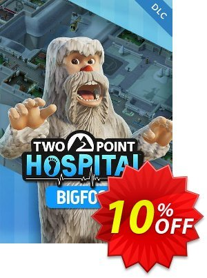 Two Point Hospital PC Bigfoot DLC割引コード・Two Point Hospital PC Bigfoot DLC Deal キャンペーン:Two Point Hospital PC Bigfoot DLC Exclusive offer for iVoicesoft