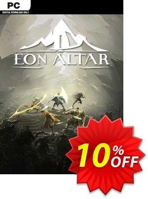 Eon Altar PC Coupon discount Eon Altar PC Deal. Promotion: Eon Altar PC Exclusive offer for iVoicesoft