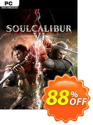 Soulcalibur VI 6 PC Coupon, discount Soulcalibur VI 6 PC Deal. Promotion: Soulcalibur VI 6 PC Exclusive offer for iVoicesoft