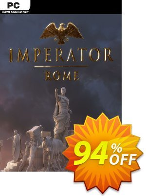 Imperator Rome PC + DLC Coupon, discount Imperator Rome PC + DLC Deal. Promotion: Imperator Rome PC + DLC Exclusive offer for iVoicesoft