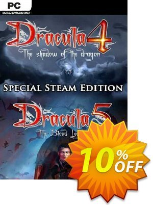 Dracula 4 and 5 Special Steam Edition PC Coupon discount Dracula 4 and 5 Special Steam Edition PC Deal - Dracula 4 and 5 Special Steam Edition PC Exclusive offer for iVoicesoft