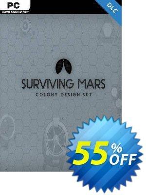 Surviving Mars: Colony Design Set PC DLC Coupon discount Surviving Mars: Colony Design Set PC DLC Deal. Promotion: Surviving Mars: Colony Design Set PC DLC Exclusive offer for iVoicesoft