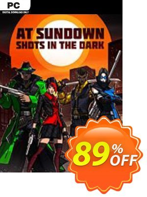 At Sundown: Shots in the Dark PC Coupon discount At Sundown: Shots in the Dark PC Deal. Promotion: At Sundown: Shots in the Dark PC Exclusive offer for iVoicesoft