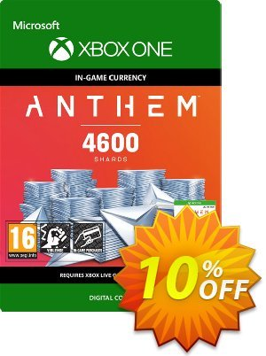 Anthem 4600 Shards Pack Xbox One discount coupon Anthem 4600 Shards Pack Xbox One Deal - Anthem 4600 Shards Pack Xbox One Exclusive offer for iVoicesoft