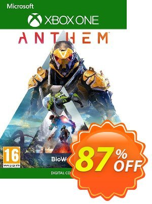 Anthem Xbox One discount coupon Anthem Xbox One Deal - Anthem Xbox One Exclusive offer for iVoicesoft