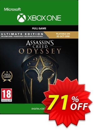 Assassin's Creed Odyssey : Ultimate Edition Xbox One 優惠券,折扣碼 Assassin's Creed Odyssey : Ultimate Edition Xbox One Deal,促銷代碼: Assassin's Creed Odyssey : Ultimate Edition Xbox One Exclusive offer for iVoicesoft