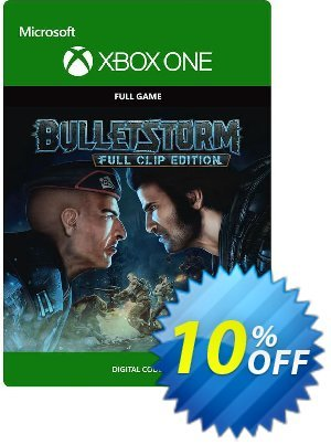 Bulletstorm: Full Clip Edition Xbox One discount coupon Bulletstorm: Full Clip Edition Xbox One Deal - Bulletstorm: Full Clip Edition Xbox One Exclusive offer for iVoicesoft