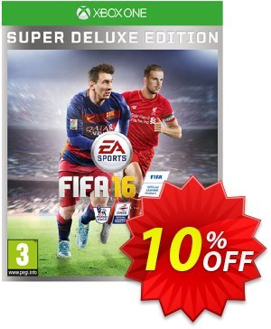 FIFA 16 Super Deluxe Edition Xbox One - Digital Code Coupon, discount FIFA 16 Super Deluxe Edition Xbox One - Digital Code Deal. Promotion: FIFA 16 Super Deluxe Edition Xbox One - Digital Code Exclusive offer for iVoicesoft