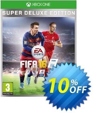 FIFA 16 Super Deluxe Edition Xbox One - Digital Code discount coupon FIFA 16 Super Deluxe Edition Xbox One - Digital Code Deal - FIFA 16 Super Deluxe Edition Xbox One - Digital Code Exclusive offer for iVoicesoft
