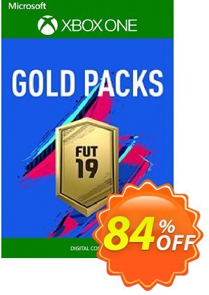 FIFA 19 - Jumbo Premium Gold Packs DLC Xbox One discount coupon FIFA 19 - Jumbo Premium Gold Packs DLC Xbox One Deal - FIFA 19 - Jumbo Premium Gold Packs DLC Xbox One Exclusive offer for iVoicesoft