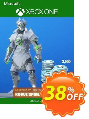 Fortnite: Legendary Rogue Spider Knight Outfit + 2000 V-Bucks Bundle Xbox One discount coupon Fortnite: Legendary Rogue Spider Knight Outfit + 2000 V-Bucks Bundle Xbox One Deal - Fortnite: Legendary Rogue Spider Knight Outfit + 2000 V-Bucks Bundle Xbox One Exclusive offer for iVoicesoft