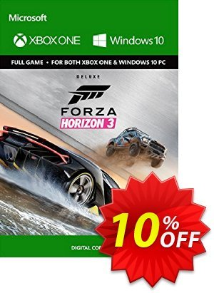 Forza Horizon 3 Deluxe Edition Xbox One/PC discount coupon Forza Horizon 3 Deluxe Edition Xbox One/PC Deal - Forza Horizon 3 Deluxe Edition Xbox One/PC Exclusive offer for iVoicesoft
