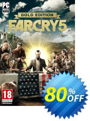 Far Cry 5 Gold Edition PC discount coupon Far Cry 5 Gold Edition PC Deal - Far Cry 5 Gold Edition PC Exclusive offer for iVoicesoft