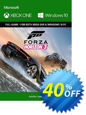 Forza Horizon 3 Xbox One/PC discount coupon Forza Horizon 3 Xbox One/PC Deal - Forza Horizon 3 Xbox One/PC Exclusive offer for iVoicesoft