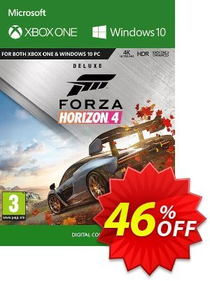 Forza Horizon 4: Deluxe Edition Xbox One/PC割引コード・Forza Horizon 4: Deluxe Edition Xbox One/PC Deal キャンペーン:Forza Horizon 4: Deluxe Edition Xbox One/PC Exclusive offer for iVoicesoft