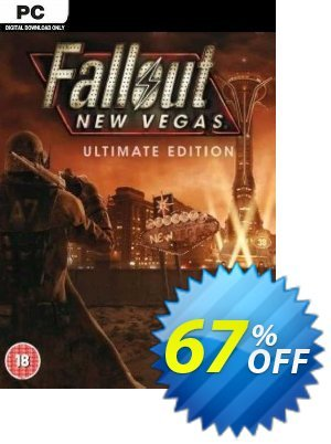Fallout: New Vegas Ultimate Edition PC Coupon, discount Fallout: New Vegas Ultimate Edition PC Deal. Promotion: Fallout: New Vegas Ultimate Edition PC Exclusive offer for iVoicesoft