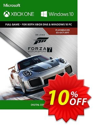 Forza Motorsport 7: Deluxe Edition Xbox One/PC Coupon discount Forza Motorsport 7: Deluxe Edition Xbox One/PC Deal. Promotion: Forza Motorsport 7: Deluxe Edition Xbox One/PC Exclusive offer for iVoicesoft