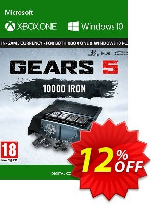 Gears 5: 10,000 Iron + 2,500 Bonus Iron Xbox One Coupon discount Gears 5: 10,000 Iron + 2,500 Bonus Iron Xbox One Deal. Promotion: Gears 5: 10,000 Iron + 2,500 Bonus Iron Xbox One Exclusive offer for iVoicesoft