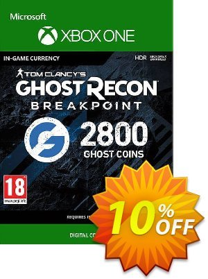 Ghost Recon Breakpoint: 2800 Ghost Coins Xbox One discount coupon Ghost Recon Breakpoint: 2800 Ghost Coins Xbox One Deal - Ghost Recon Breakpoint: 2800 Ghost Coins Xbox One Exclusive offer for iVoicesoft