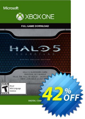 Halo 5 Guardians Digital Deluxe Edition Xbox One - Digital Code discount coupon Halo 5 Guardians Digital Deluxe Edition Xbox One - Digital Code Deal - Halo 5 Guardians Digital Deluxe Edition Xbox One - Digital Code Exclusive offer for iVoicesoft