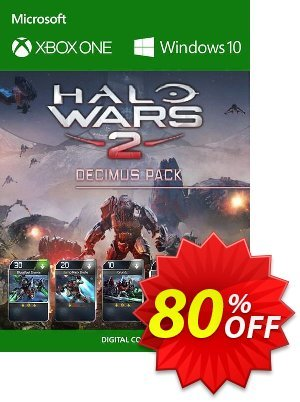 Halo Wars 2 Decimus Pack DLC Xbox One / PC discount coupon Halo Wars 2 Decimus Pack DLC Xbox One / PC Deal - Halo Wars 2 Decimus Pack DLC Xbox One / PC Exclusive offer for iVoicesoft