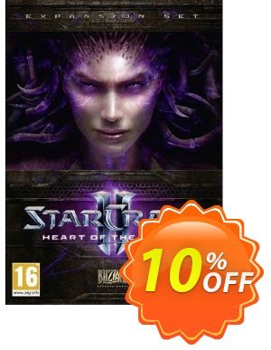 Starcraft II 2: Heart of the Swarm (PC/Mac) 프로모션 코드 Starcraft II 2: Heart of the Swarm (PC/Mac) Deal 프로모션: Starcraft II 2: Heart of the Swarm (PC/Mac) Exclusive offer for iVoicesoft