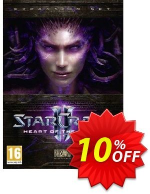 Starcraft II 2: Heart of the Swarm (PC/Mac) Coupon, discount Starcraft II 2: Heart of the Swarm (PC/Mac) Deal. Promotion: Starcraft II 2: Heart of the Swarm (PC/Mac) Exclusive offer for iVoicesoft
