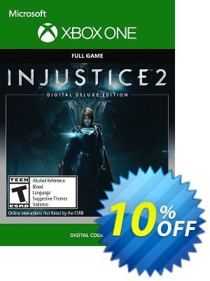 Injustice 2 Digital Deluxe Edition Xbox One discount coupon Injustice 2 Digital Deluxe Edition Xbox One Deal - Injustice 2 Digital Deluxe Edition Xbox One Exclusive offer for iVoicesoft