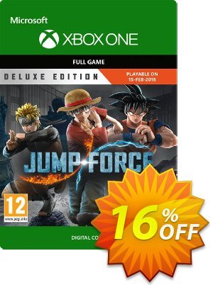 Jump Force Deluxe Edition Xbox One discount coupon Jump Force Deluxe Edition Xbox One Deal - Jump Force Deluxe Edition Xbox One Exclusive offer for iVoicesoft