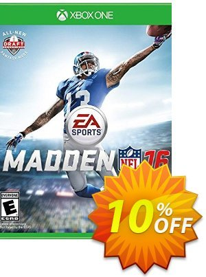 Madden NFL 16 Xbox One - Digital Code 優惠券,折扣碼 Madden NFL 16 Xbox One - Digital Code Deal,促銷代碼: Madden NFL 16 Xbox One - Digital Code Exclusive offer for iVoicesoft