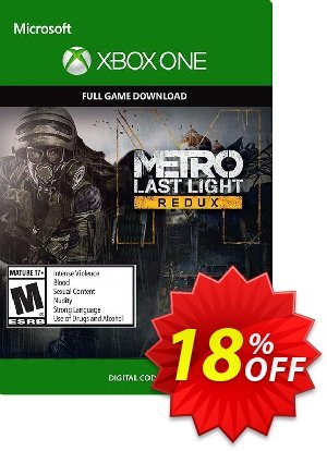 Metro Last Light Redux Xbox One discount coupon Metro Last Light Redux Xbox One Deal - Metro Last Light Redux Xbox One Exclusive offer for iVoicesoft