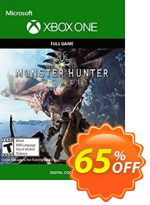 Monster Hunter: World Xbox One discount coupon Monster Hunter: World Xbox One Deal - Monster Hunter: World Xbox One Exclusive offer for iVoicesoft