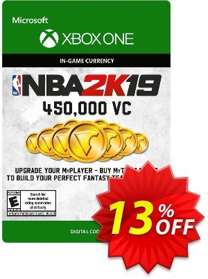 NBA 2K19: 450,000 VC Xbox One discount coupon NBA 2K19: 450,000 VC Xbox One Deal - NBA 2K19: 450,000 VC Xbox One Exclusive offer for iVoicesoft