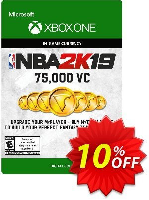 NBA 2K19: 75,000 VC Xbox One 優惠券,折扣碼 NBA 2K19: 75,000 VC Xbox One Deal,促銷代碼: NBA 2K19: 75,000 VC Xbox One Exclusive offer for iVoicesoft