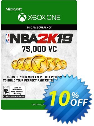 NBA 2K19: 75,000 VC Xbox One discount coupon NBA 2K19: 75,000 VC Xbox One Deal - NBA 2K19: 75,000 VC Xbox One Exclusive offer for iVoicesoft