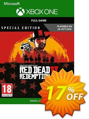 Red Dead Redemption 2: Special Edition Xbox One discount coupon Red Dead Redemption 2: Special Edition Xbox One Deal - Red Dead Redemption 2: Special Edition Xbox One Exclusive offer for iVoicesoft