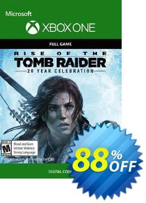 Rise of the Tomb Raider 20 Year Celebration Xbox One discount coupon Rise of the Tomb Raider 20 Year Celebration Xbox One Deal - Rise of the Tomb Raider 20 Year Celebration Xbox One Exclusive offer for iVoicesoft