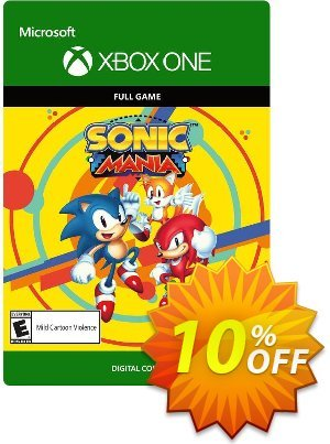 Sonic Mania Xbox One Coupon discount Sonic Mania Xbox One Deal. Promotion: Sonic Mania Xbox One Exclusive offer for iVoicesoft