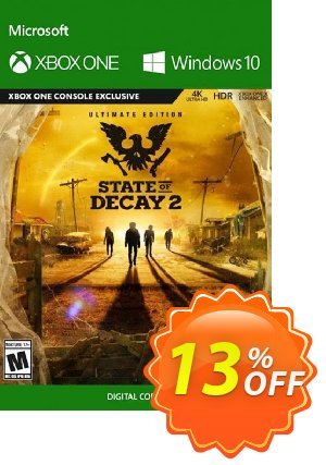 State of Decay 2 Ultimate Edition Xbox One/PC Coupon, discount State of Decay 2 Ultimate Edition Xbox One/PC Deal. Promotion: State of Decay 2 Ultimate Edition Xbox One/PC Exclusive offer for iVoicesoft