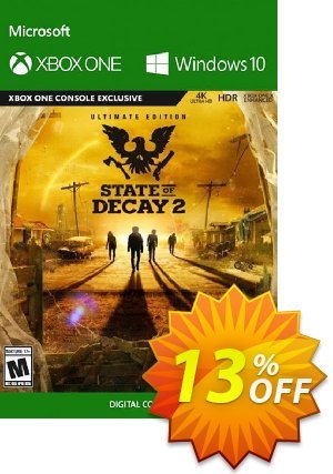 State of Decay 2 Ultimate Edition Xbox One/PC discount coupon State of Decay 2 Ultimate Edition Xbox One/PC Deal - State of Decay 2 Ultimate Edition Xbox One/PC Exclusive offer for iVoicesoft
