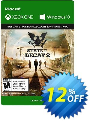 State of Decay 2 Xbox One/PC Coupon discount State of Decay 2 Xbox One/PC Deal. Promotion: State of Decay 2 Xbox One/PC Exclusive offer for iVoicesoft
