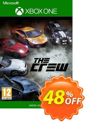 The Crew Xbox One 優惠券,折扣碼 The Crew Xbox One Deal,促銷代碼: The Crew Xbox One Exclusive offer for iVoicesoft